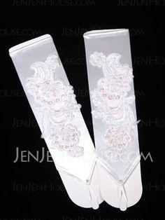 Handschuhe - $19.99 - Halfway-Handschuhe mit Stickerei  (014003779) http://jenjenhouse.com/de/pinterest-g3779