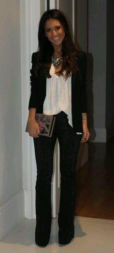 Look profesional para tu empleo o entrevista de trabajo. #fashion #outfit #vestimenta