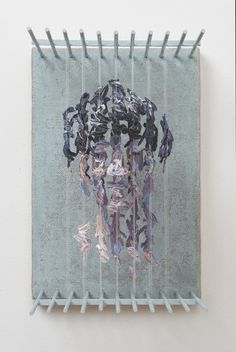 Three-Dimensional Portraits of Suspended Paint Strokes by Chris Dorosz (Colossal) 3d Portrait, Portraits, Fabric Balls, Paint Drop, Paint Strokes, Brush Strokes, Colossal Art, Colorful Artwork, Figure Painting