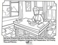 25 Best Paul and Silas coloring pages images in 2014