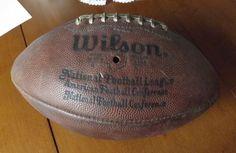 Vintage NFL Football. Pete Rozelle Commissioner Circa 1970