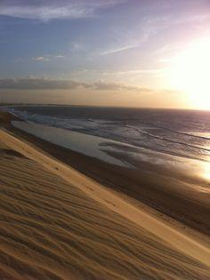 sunset jericoacoara beach brasil