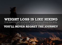 I love this! It motivates me a bit more than a lot of the other things I've read because I love hiking so much!