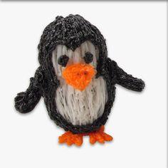 """37 Likes, 1 Comments - 3dpencreaties (@3d_pencreaties) on Instagram: """"Het is vandaag wereld pinguïn dag! Probeer eens om zelf een pinguïn te maken met jouw 3D pen. •••…"""""""