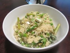 Asparagus & Avocado Quinoa Recipe