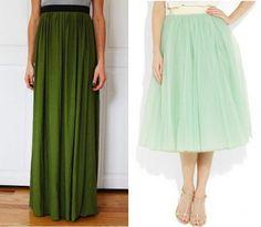10 Easy + Cute Skirt Tutorials - Pretty Providence