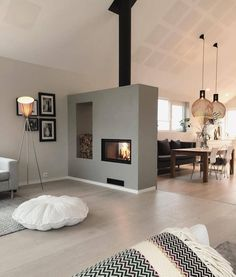Love this 🔥 Cre - Raumteiler ideen- Love this Cre Love this Cre The post Love this Cre appeared first on Raumteiler ideen. Love this Cre Love this Cre The post Love this Cre appeared first on Raumteiler ideen. Living Room With Fireplace, Home Living Room, Living Room Decor, Modern Fireplace, White Fireplace, Fireplace Kitchen, Modern Interior, Modern Decor, Interior Design