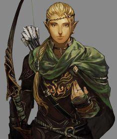 ✧ #characterconcepts ✧ Ranger - Stranger of Sword City [RPG]