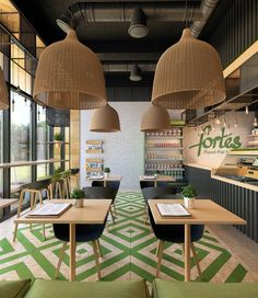 Clean food cafe Fortes by Katie Domracheva
