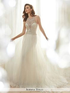 Sophia Tolli Wedding Dresses - Style Celestia