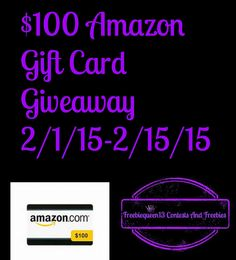 $100 Amazon Gift Card Giveaway (ends 2/15) - Desafio In The City