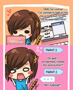 Torakun Comics :: He's Online!   Tapastic - image 1
