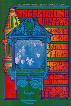 """psychedelic-sixties: """" Jefferson Airplane/Grateful Dead/Big Brother and the Holding Company/Glenn McKay's Head Lights, September 1967 - Hollywood Bowl (Hollywood, CA) Art : Jim Blashfield Rock Posters, Band Posters, Art Hippie, Psychedelic Music, Psychedelic Posters, Hippie Posters, Grateful Dead Poster, Vintage Concert Posters, Jefferson Airplane"""