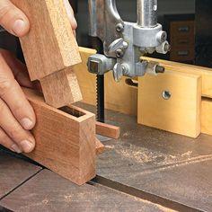 Easy, Accurate Tenon Technique | Woodsmith Tips