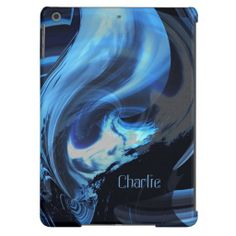 Storm from Another Dimension iPad Air Case*Personalize it! #blue #black #scifi