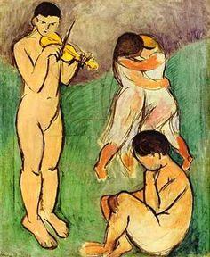Musique - Henri MATISSE (1869-1954)