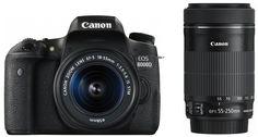 Amazon.co.jp: Canon デジタル一眼レフカメラ EOS 8000D ダブルズームキット EF-S18-55mm/EF-S55-250mm 付属 EOS8000D-WKIT: カメラ