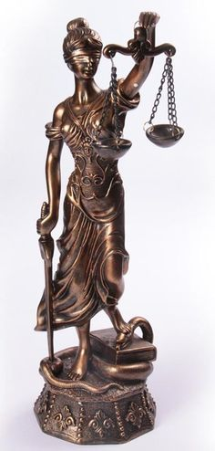 Scales Lady Justice Statues