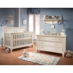 Kinderzimmermöbel baby  süßes Baby Mädchen Kinderzimmer rosa Gardinen weiße Möbel ...