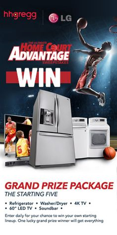 Win LG Appliances With hhgregg