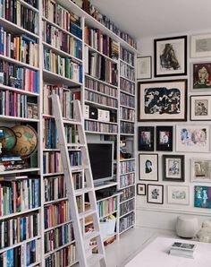 Okay, THIS is our dream bookshelf.