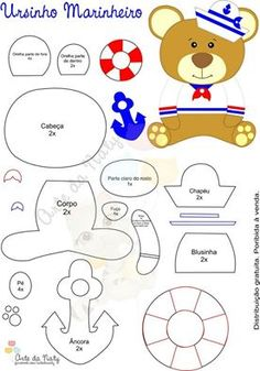 Urso marinheiro, orso marinaio