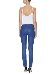 Minette Leather Skinny Pant from 101 Best Sellers on Gilt