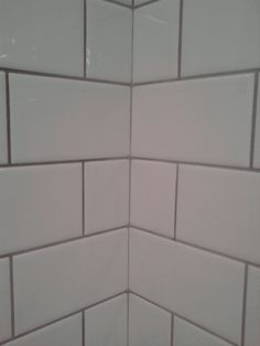 Delorean Gray Grout With White Subway Tile Tile Subway