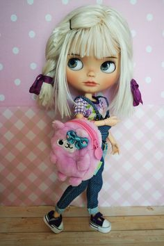 https://flic.kr/p/B43tHX | Blythe Plush Backpack