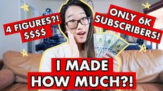 How Much I Make on Youtube As A SMALL YOUTUBER with 6,500 SUBSCRIBERS AP... Youtube, How To Make, Youtubers, Youtube Movies