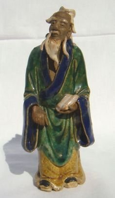 Shekwan Ceramic Chinese MUDMAN STANDING