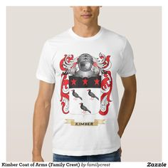 Kimber Coat of Arms (Family Crest) Tee Shirt