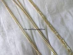 Rhinestone pearl chain and stone chain Small pearl, large pearl and stone-Rs 55/metre