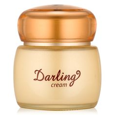 Etude House: Darling Creamcontains 73% snail slime extract for smoother and clearer skin.   Benefits: Heals Acne Heals Wounds Reduces Appearance of Scar Wrinkle Improvement Firms