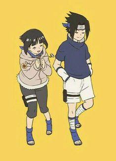 Naruto Boys, Naruto Shippudden, Naruto Couples, Anime Couples, Sasuke Uchiha, Hinata Hyuga, Sasuhina, Shikatema, Narusaku