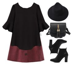 """""""Romwe #4 XI"""" by oliverab ❤ liked on Polyvore featuring romwe and Elegant"""
