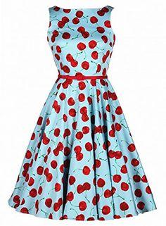 Anni Coco Women's 50s Vintage Retro Cherry Dresses Blue Large Anni Coco http://www.amazon.com/dp/B00WHTBMK4/ref=cm_sw_r_pi_dp_nJ7nvb1JQVYQM