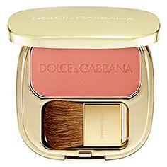 "Peach Looks Great on All Skin Tones. Dolce & Gabbana ""Peachy Pink"" Blush - Sephora"
