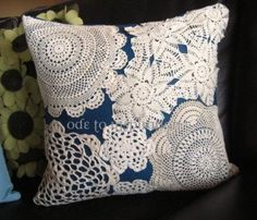 Paper Doily and Lace Doily Crafts