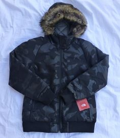 I <3 The North Face Outlet - TNF W 12th Insulated RTO Camo Jacket Black Size Large New With Tags #Realtree #Puffer