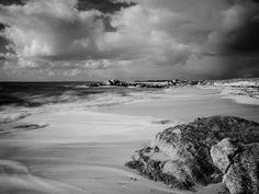 #Bretagne - #Finistere :  flux et reflux à Trevignon (4 photos N&B) © Paul Kerrien - http://toilapol.net #Brittany #BZH