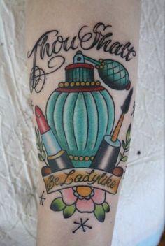 Makeup tattoo idea