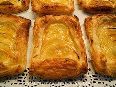 Pasteles de manzana con hojaldre, un clásico para hacer en casa de manera muy sencilla. No volverás a comprarlos!