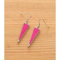 Triangle Drop Earrings from #YesStyle <3 Petit et Belle YesStyle.co.uk