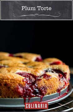 This plum torte, made with ripe fruit and a handful of everyday pantry ingredients, is an easy and elegant way to celebrate plum season. #plums #torte #plumtorte #baking Summer Recipes, Fall Recipes, Delicious Desserts, Dessert Recipes, Pie Recipes, Plum Season, Plum Torte, Dairy Free Low Carb, Torte Recipe