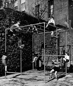 Before the age of specialized playground equipment there was Kee Klamp - a…