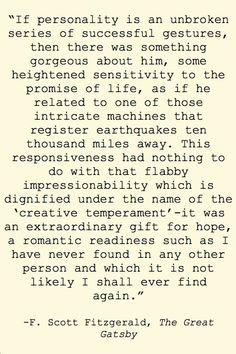 F. Scott Fitzgerald, The Great Gatsby Fitzgerald Quotes, F Scott Fitzgerald, Zelda Fitzgerald, Scottie Fitzgerald, Great Quotes, Quotes To Live By, Me Quotes, Favorite Book Quotes, Love Book