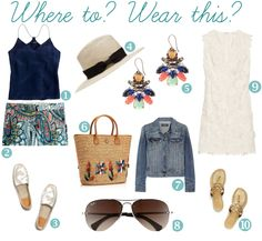 Where to?  Wear this.  {Resort looks}