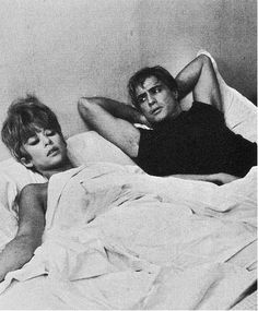 Marlon Brando and Rita Moreno
