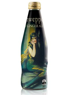 Very artistic #Schweppes #bottle